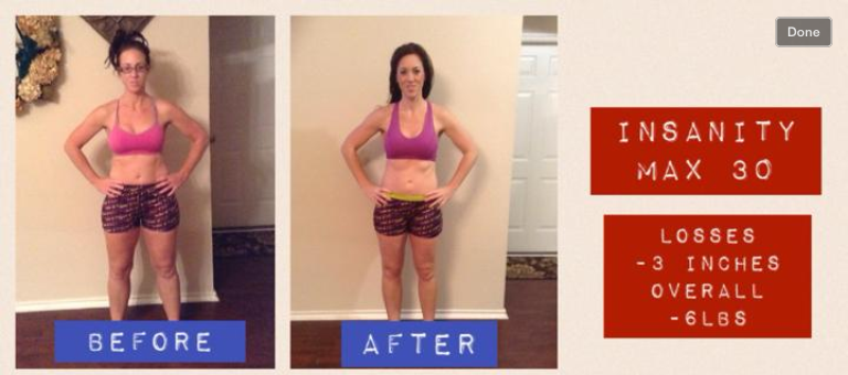 INSANITY MAX 30: Test Group Results | The Fit NP